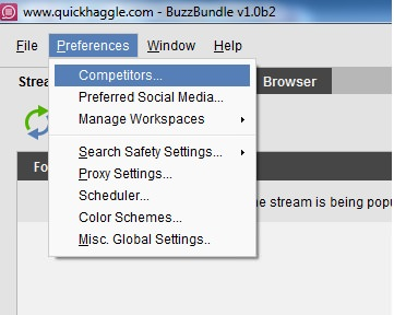 competitors BuzzBundle  Social Media Management Tool