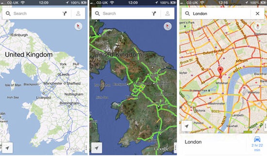 google maps london iTunes Google Maps app Hits the App Store at #1