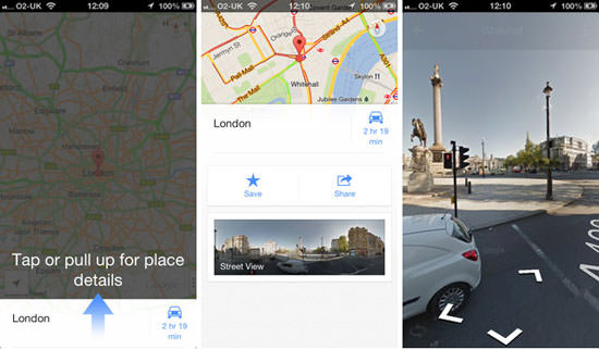 itunes google maps app