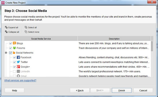 projects BuzzBundle  Social Media Management Tool
