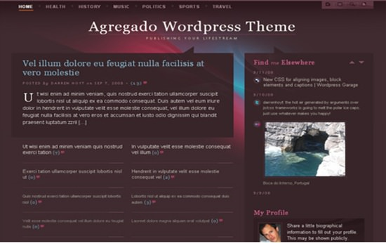 Agregado WP Theme