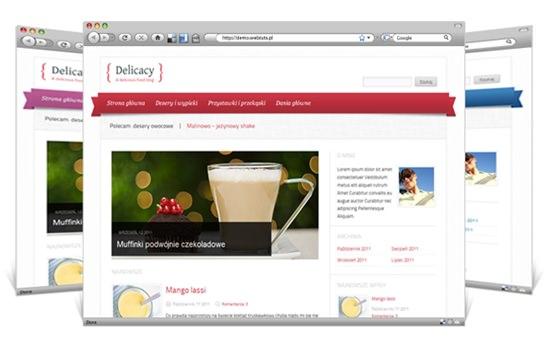 Delicacy WP Theme