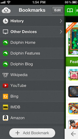 Dolphin Browser for iPhone