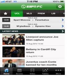 ESPN FC app