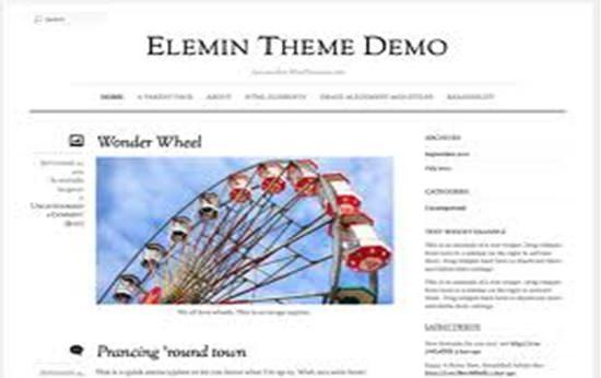 Elemin WP Theme