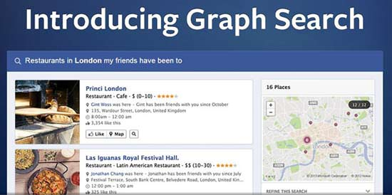 Facebook Graph Search Optimization