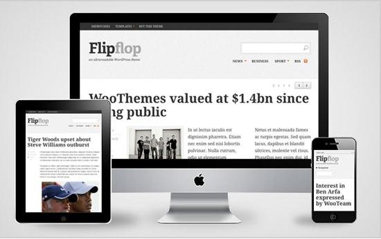 Flipflop WP Theme