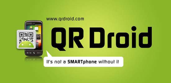QR droid android app