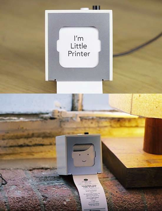 The Little Printer 7 Strange And Unconventional Printers That You Didn't Know Existed
