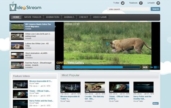Video Stream WP Theme