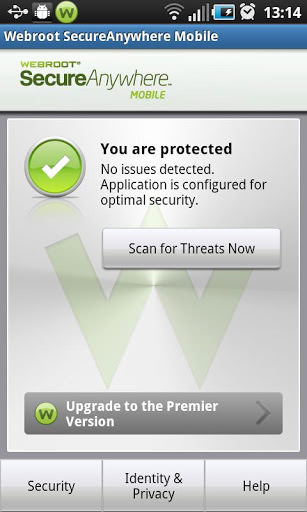 Webroot Security a