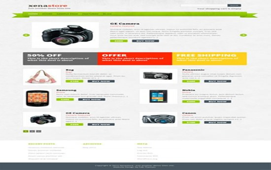 Xenastore WP Theme