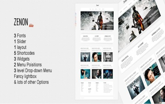 Zenonlite WP Theme