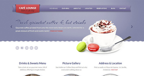 coffeelounge theme