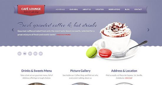 coffeelounge theme