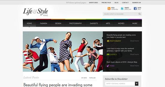 lifestyle theme [Giveaway #1] 3 ThemeFuse Premium WordPress Themes