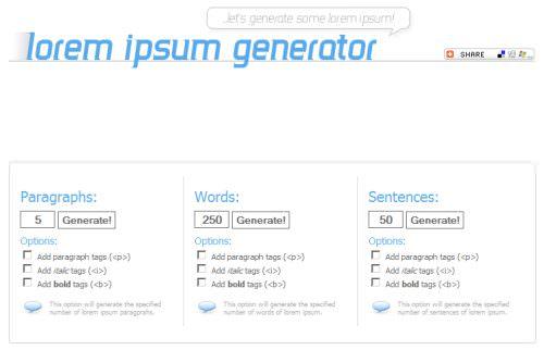 lorem-ipsum-generator