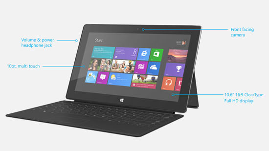 surface with win8 pro Microsoft Surface with Windows 8 Pro   In Depth Review