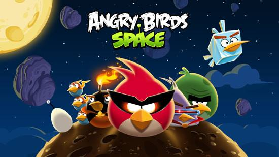 Angry Birds in Space for tablets