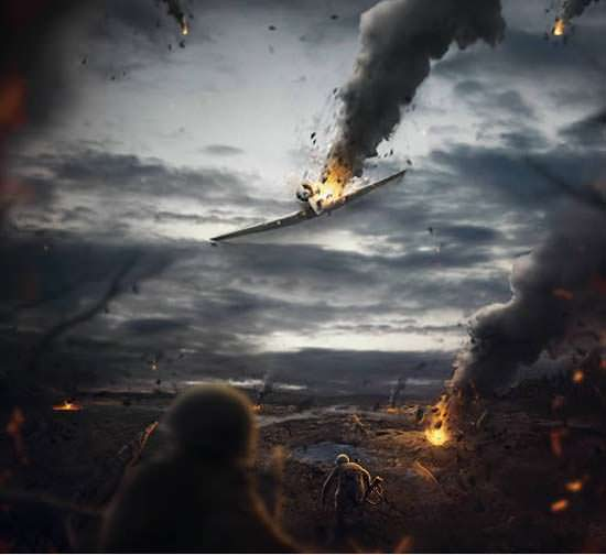 Battlefield Scene Tutorial 10 New and Free Photoshop Tutorials for February 2013
