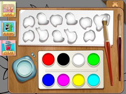 Brush and Smudge – Coloring Book