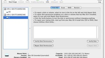 The Effect of Corrupt Disk Permissions on Mac OS X