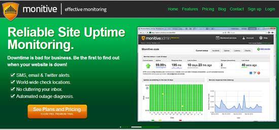 Monitive Uptime Monitoring