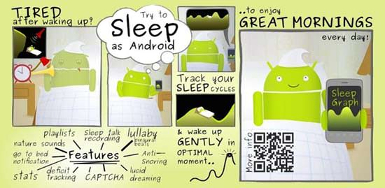 Sleep as Android App Top 10 Android Apps for College Students in 2013