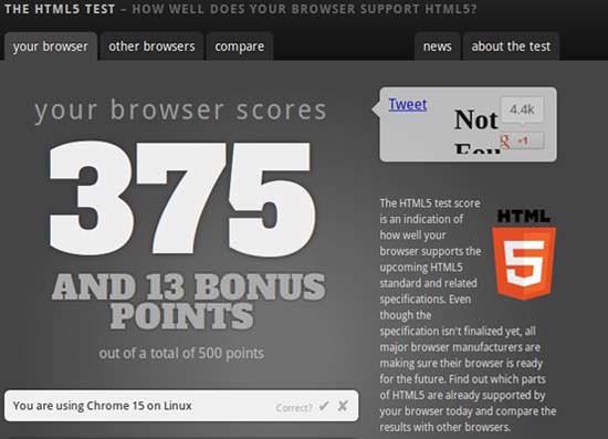 browser test