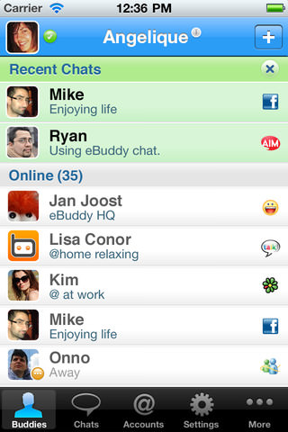 ebuddy for iphone 5 The Best Instant Messaging Apps For The iPhone 5