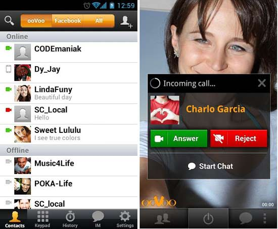 ooVoo App for Android