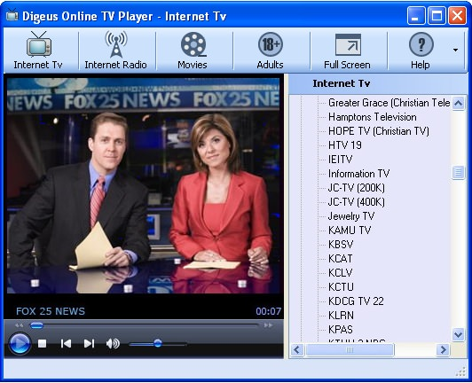 Online TV Player Top Ten Softwares to Watch TV Online for Free