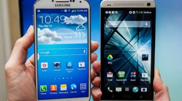 Samsung Galaxy S4 vs. HTC One: Clash of the Titans