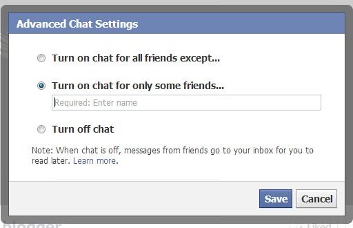 Advanced Chat Settings