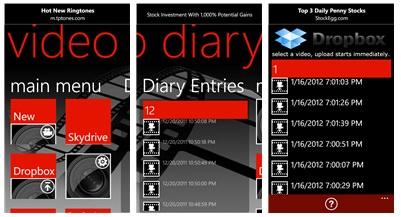 Video Diary App