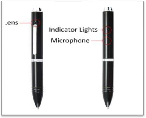 Voice Activated Spy Pen
