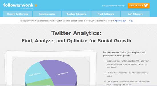 followerwonk 6 Amazing Twitter Tools for Twitter Users