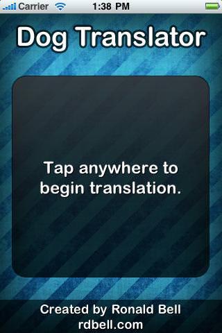 Dog Translator