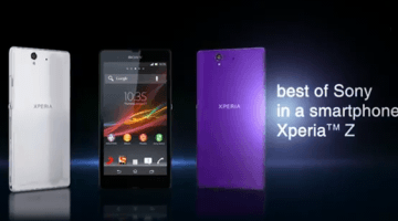 Sony Xperia Z Review And Specifications