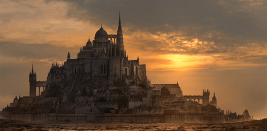 Create a fantasy city