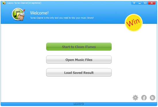 Win iTunes Cleaner Professionally Clean up iTunes Music Library – Leawo Tunes Cleaner