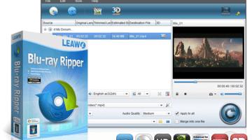 Blu-ray/DVD Ripper Software by Leawo – 30% OFF
