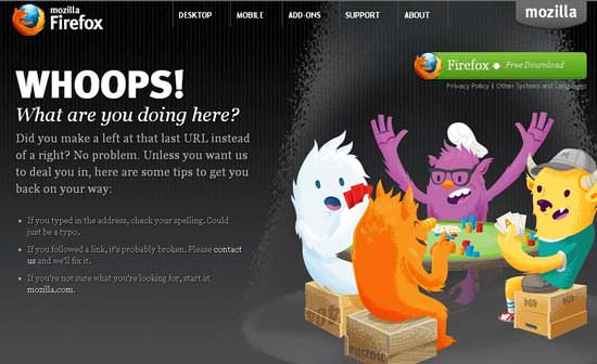 Get Leads From A 404 Error Page