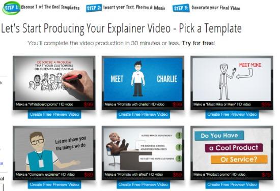 promo video maker free