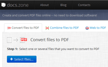 All In One Web Based Document Converter – Docs.Zone