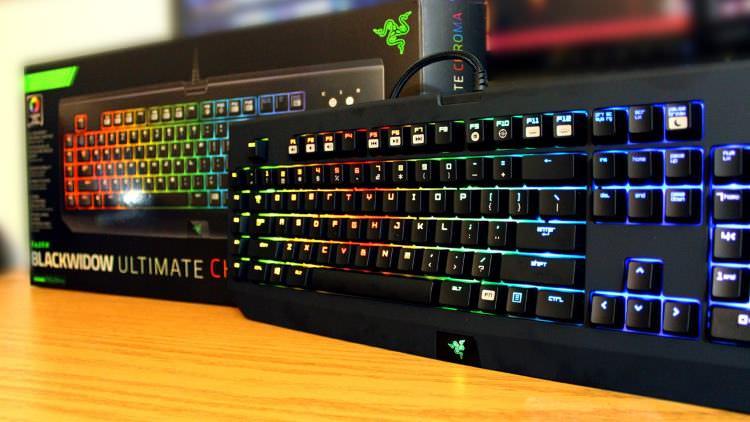 BlackWidow Chroma Gaming Keyboard
