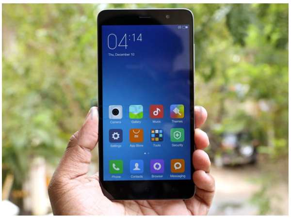 Xiaomi Redmi Note 3 Display