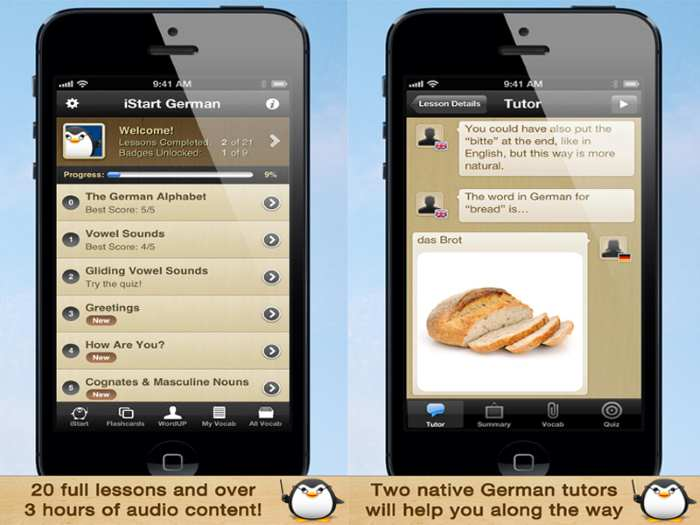 German Language Learning App