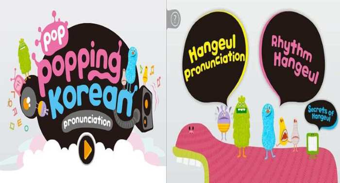 Popkorean Language Learning App