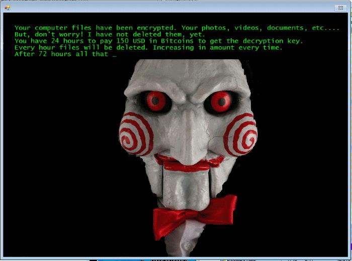 Crypto-Ransomware JIGSAW
